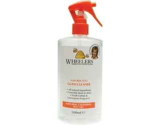 Wheelers Natural Eco Glass Cleaner, 300ml
